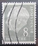 Poštovní známka Německo 1954 Prezident Heuss Mi# 182 x W