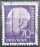 Poštovní známka Německo 1957 Prezident Heuss Mi# 263 x