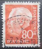 Poštovní známka Německo 1957 Prezident Heuss Mi# 264 x