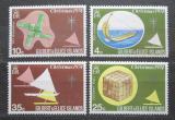 Poštovní známky Gilbertovy ostrovy 1974 Vánoce Mi# 225-28