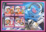 Poštovní známky Burkina Faso 2019 Sovětští kosmonauti Mi# N/N