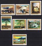 Poštovní známky Maďarsko 1973 Umění Mi# 2878-84