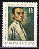 Poštovní známka Maďarsko 1980 Bertalan Pór, malíř Mi# 3450
