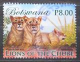 Poštovní známka Botswana 2014 Lvi Mi# 991