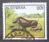 Poštovní známka Botswana 1992 Prase bradavičnaté Mi# 524