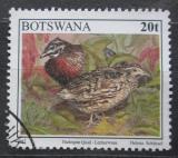 Poštovní známka Botswana 1997 Křepelka harlekýn Mi# 632