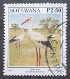 Poštovní známka Botswana 1997 Čáp bílý Mi# 644