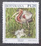 Poštovní známka Botswana 1997 Volavka červená Mi# 641