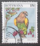 Poštovní známka Botswana 1997 Papoušek žlutotemenný Mi# 631