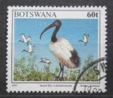 Poštovní známka Botswana 1997 Ibis posvátný Mi# 637