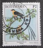 Poštovní známka Botswana 1997 Vdovka královská Mi# 643