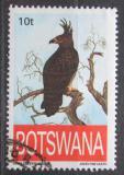 Poštovní známka Botswana 1993 Orel chocholatý Mi# 553