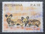 Poštovní známka Botswana 2011 Pes hyenový Mi# 958