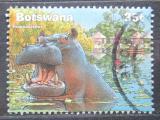 Poštovní známka Botswana 2000 Hroch obojživelný Mi# 710