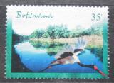Poštovní známka Botswana 2000 Čáp sedlatý Mi# 689