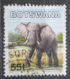 Poštovní známka Botswana 2002 Slon africký Mi# 751