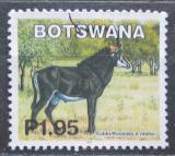 Poštovní známka Botswana 2002 Antilopa vraná Mi# 755