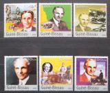 Poštovní známky Guinea-Bissau 2003 Henry Ford Mi# 2503-08 Kat 12€