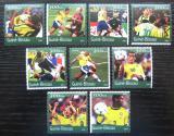 Poštovní známky Guinea-Bissau 2001 MS ve fotbale Mi# 1361-69 Kat 11€