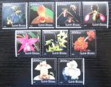 Poštovní známky Guinea-Bissau 2001 Orchideje Mi# 1470-78