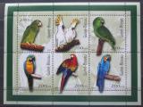 Poštovní známky Guinea-Bissau 2001 Papoušci Mi# 1422-27