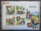 Poštovní známky Guinea-Bissau 2009 Včely Mi# 4131-34 Kat 9.50€
