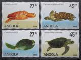 Poštovní známky Angola 2007 Želvy Mi# 1794-97 Kat 7.50€