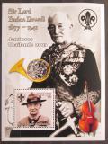Poštovní známka Guinea 2002 Robert Baden-Powell, skauting Mi# Block 754 Kat 11€