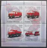 Poštovní známky Guinea-Bissau 2006 Hasičská auta Mi# 3354-57 Kat 8€