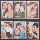Poštovní známky Somálsko 1999 Slavní herci Mi# N/N