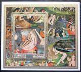 Poštovní známka Manáma 1971 Umění, Hieronymus Bosch Mi# Block 155 A Kat 6.50€