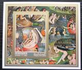 Poštovní známka Manáma 1971 Umění, Bosch neperf. Mi# Block 155 B Kat 10€