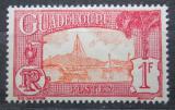 Poštovní známka Guadeloupe 1938 Plachetnice v přístavu Pointe-a-Pitre Mi# 115