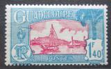 Poštovní známka Guadeloupe 1940 Plachetnice v přístavu Pointe-a-Pitre Mi# 159