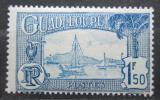 Poštovní známka Guadeloupe 1928 Plachetnice v přístavu Pointe-a-Pitre Mi# 119