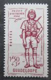 Poštovní známka Guadeloupe 1941 Obrana země Mi# 164
