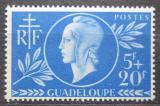 Poštovní známka Guadeloupe 1944 Červený kříž Mi# 183