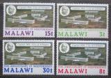 Poštovní známky Malawi 1974 Letecký pohled na Lilongwe Mi# 220-23
