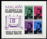 Poštovní známky Malawi 1976 Alexander Graham Bell Mi# Block 43
