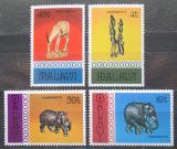 Poštovní známky Malawi 1977 Rukodělné umění Mi# 277-80