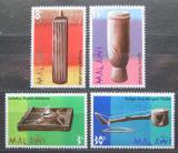 Poštovní známky Malawi 1973 Tradiční hudební nástroje Mi# 203-06