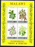 Poštovní známky Malawi 1971 Stromy Mi# Block 24
