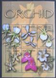 Poštovní známky Malawi 2003 Orchideje Mi# 732-37 Kat 8€