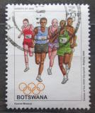 Poštovní známka Botswana 2008 LOH Peking, běh Mi# 883