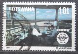 Poštovní známka Botswana 1994 Letištní centrum Mi# 565