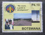 Poštovní známka Botswana 2011 Sčítání lidu Mi# 946