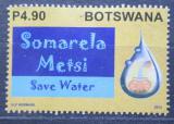 Poštovní známka Botswana 2013 Šetři vodou Mi# 970