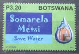 Poštovní známka Botswana 2013 Šetři vodou Mi# 968