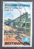 Poštovní známka Botswana 1970 Diamantový důl Mi# 58