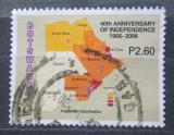 Poštovní známka Botswana 2006 Mapa Mi# 836
